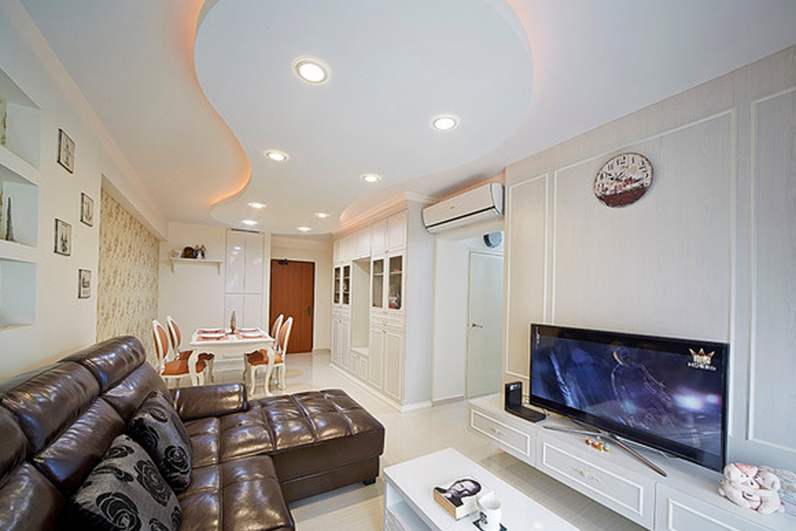 downlight living room
